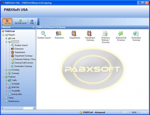 new pabxsoft gui